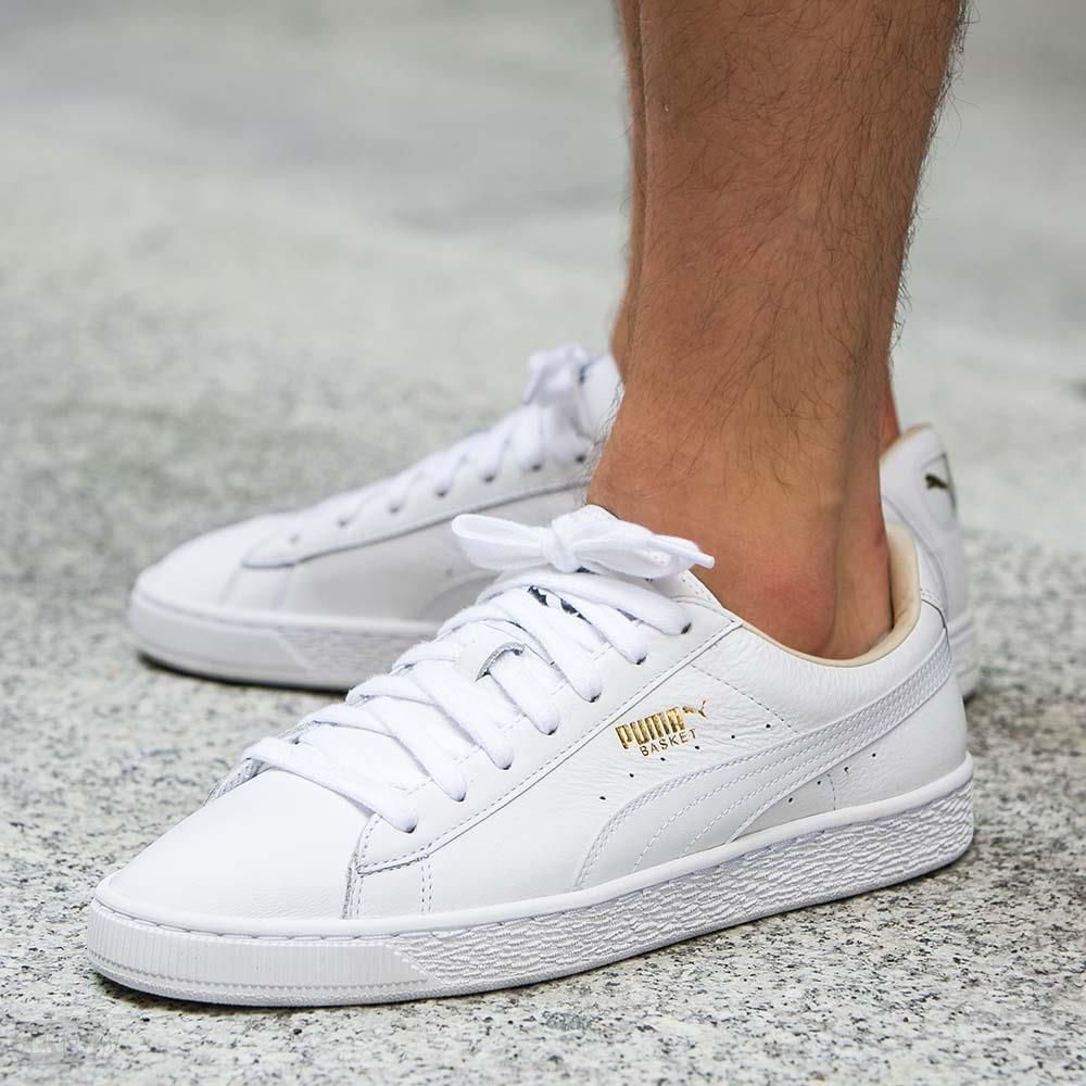 online store 78bd5 1455d Puma Basket Classic LFS White | Shoes in 2019 | Puma basket ...
