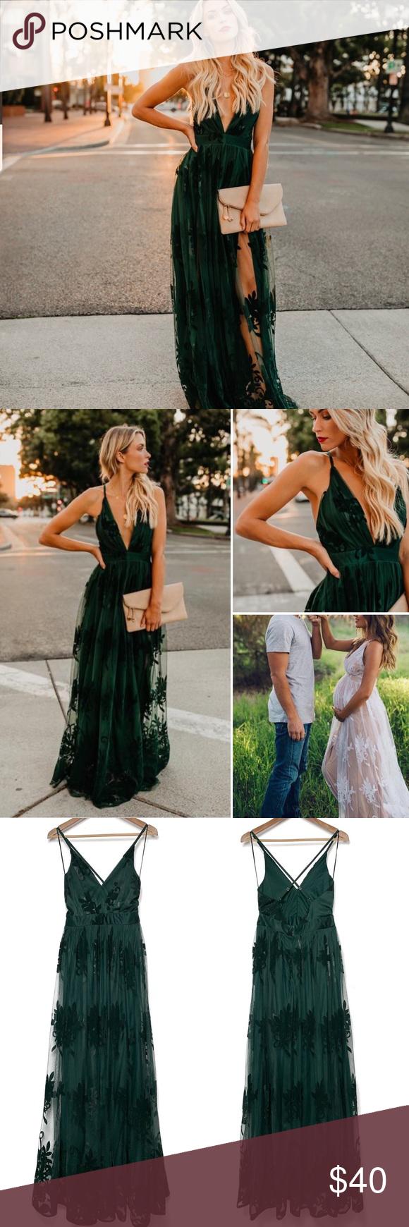 Vici Antonia Flocked Maxi Dress Hunter Green S Maxi Dress Dresses Maxi [ 1740 x 580 Pixel ]