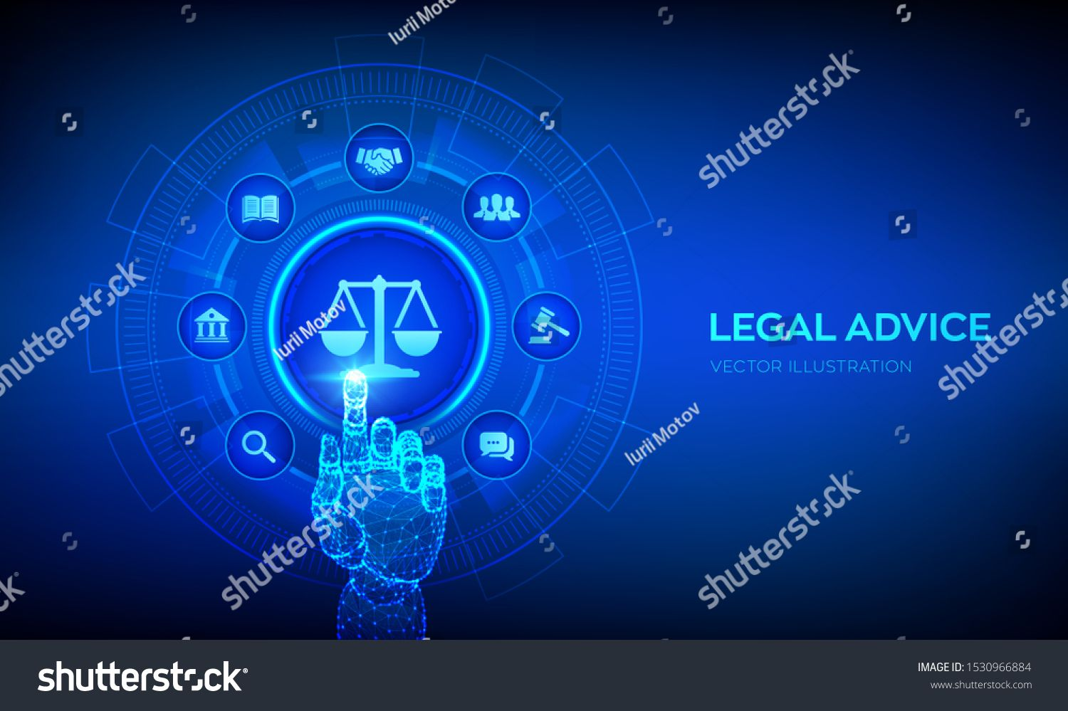 Labor Law Lawyer Attorney At Law Legal Advice Concept On