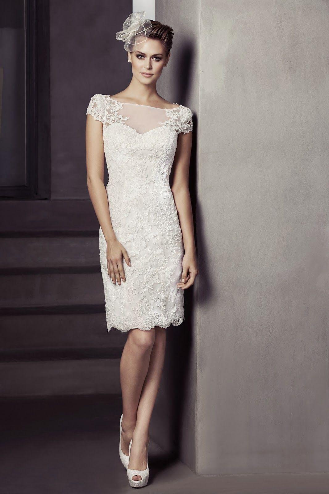 Harika Dantelli Beyaz Nikah Elbiseleri | Abiye Bayandamoda ...