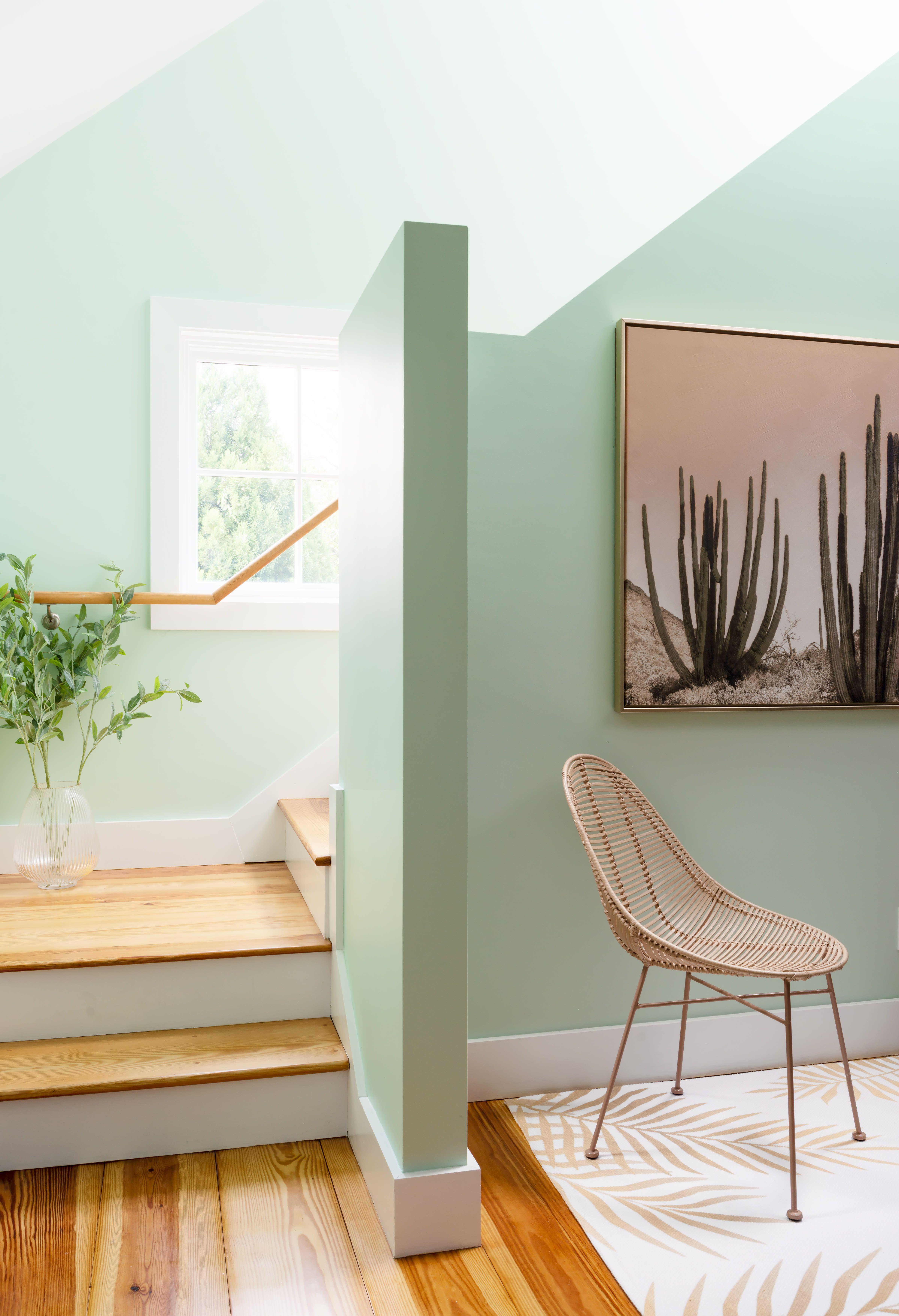 Modern Glam Design Newport Home Tour Green Walls Living Room Living Room Green Light Green Rooms