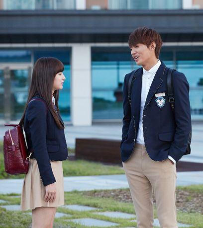 Kim Ji Won and Lee Min Ho ♡ #Kdrama - THE HEIRS (THE
