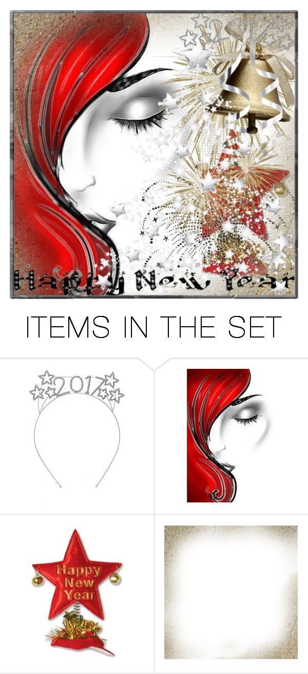 """""""Happy New Year to all my Polyfriends!"""" by andrejae ❤ liked on Polyvore featuring art and newyear2017"""