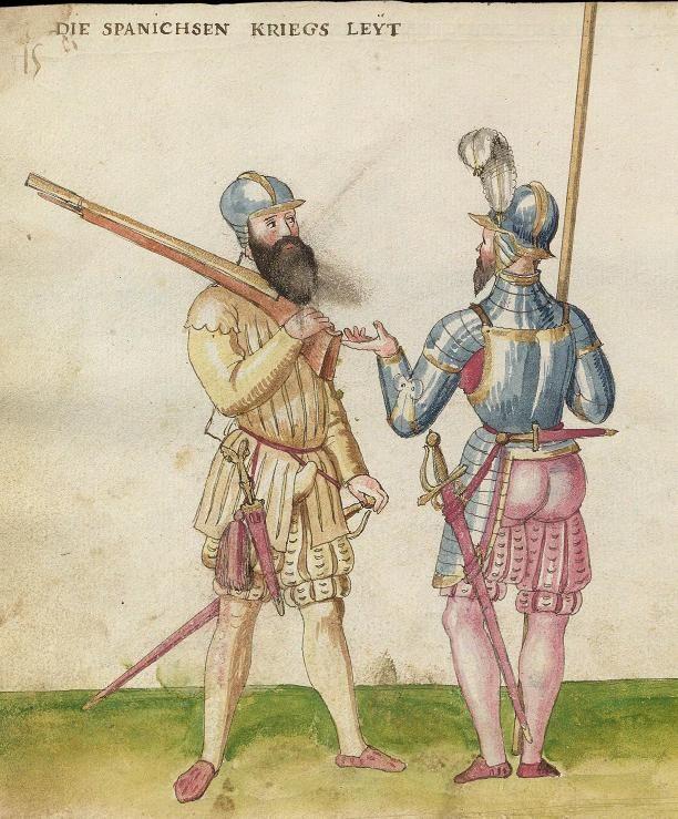 Spanish Soldiers 1547