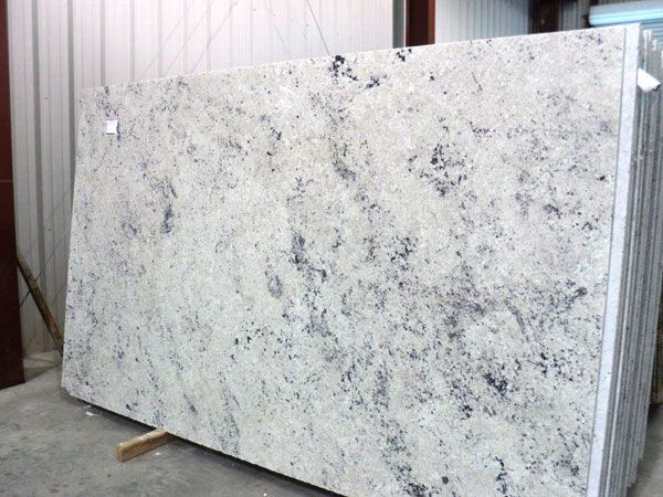 Colonial White Granite Slab 65 White Granite Slabs White