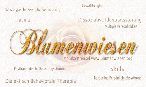 Blumenwiesen - Informationen, DBT-Skills u.a. zu Traumafolge- und ...