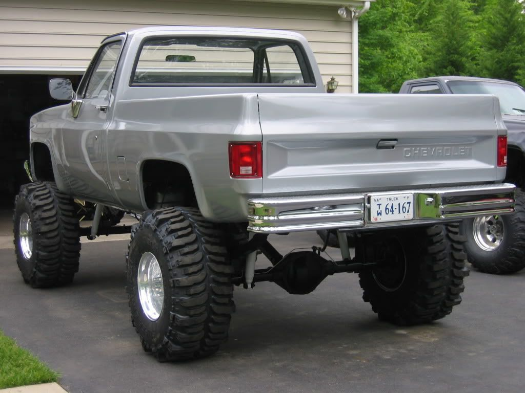Chevy k20 lifted