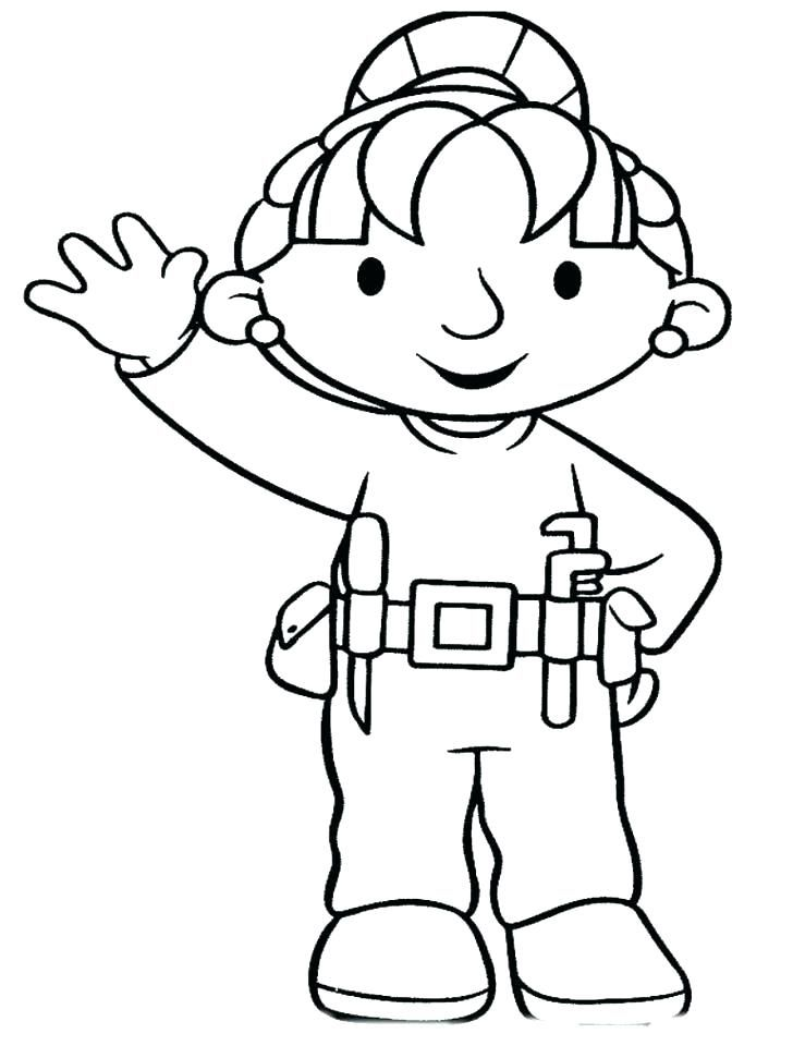 construction worker coloring pages construction worker coloring ...