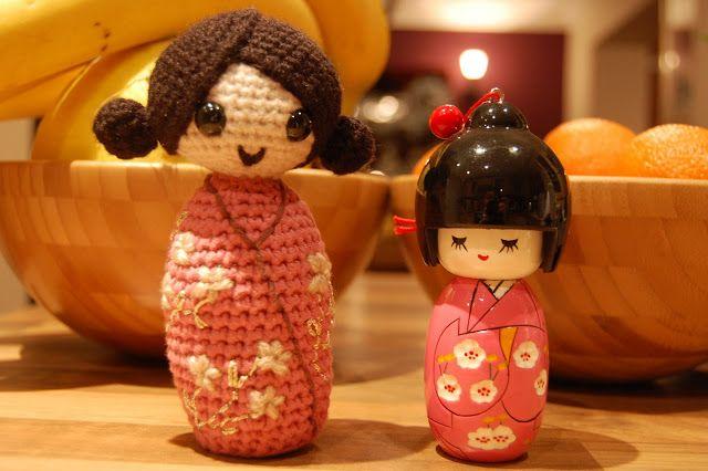 Free Amigurumi Kokeshi Doll Patterns : Amigurumi parçaları birleştirme amigurumi