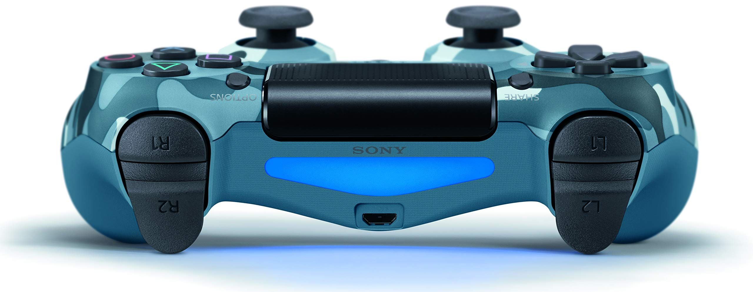Dualshock 4 Wireless Controller For Playstation 4 Blue Camouflage Controller Wireless Dualshock Camoufla Dualshock Wireless Controller Blue Camouflage