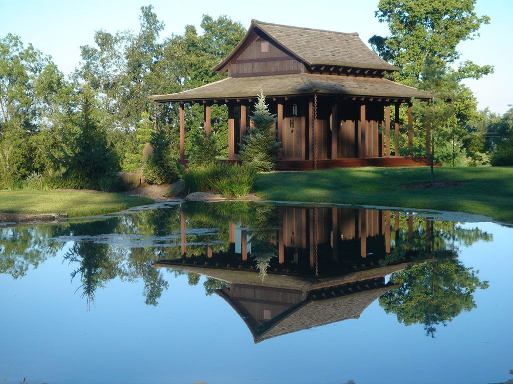 Japanese Garden House