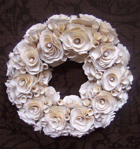 Bianco Wood Rose Corona