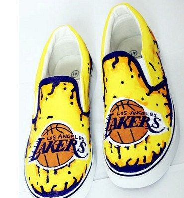 NBA KOBE Shoes canvas shoes painted canvas shoes sneakers for women man kid eddcf8f0d8