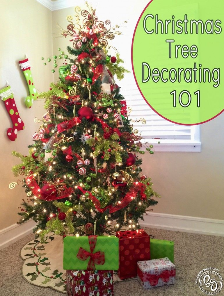 Tree Decorating 101 - Christmas Tree Decorating 101 Baby Projects Christmas Tree