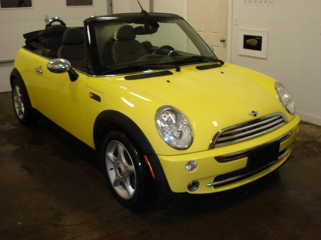 2005 Mini Cooper Convertible 2dr Yellow Http Www Iseecars