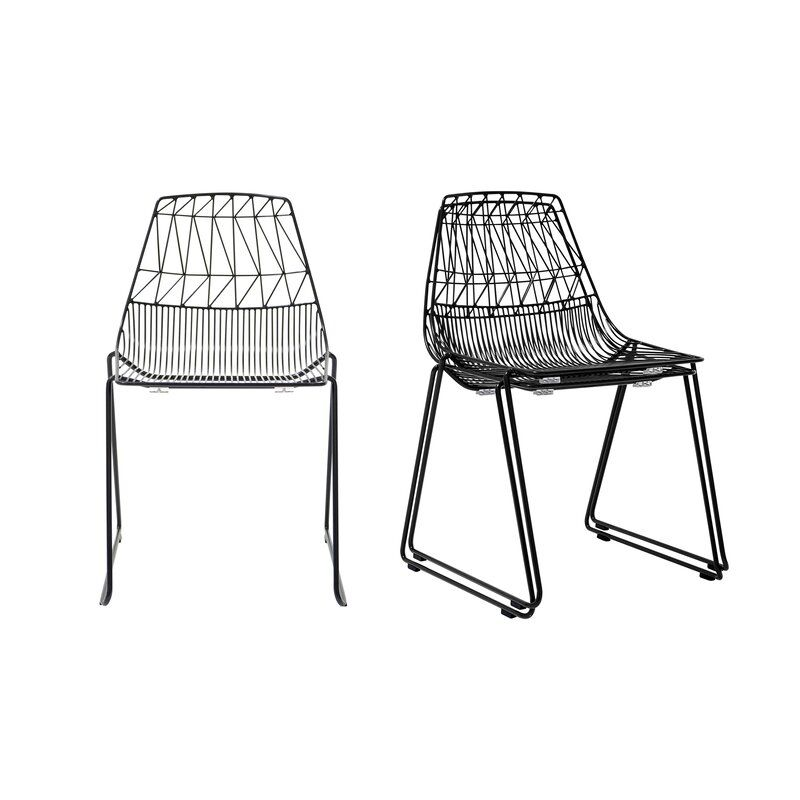 Lucy Stacking Dining Chair In 2020 With Images Stacking Dining