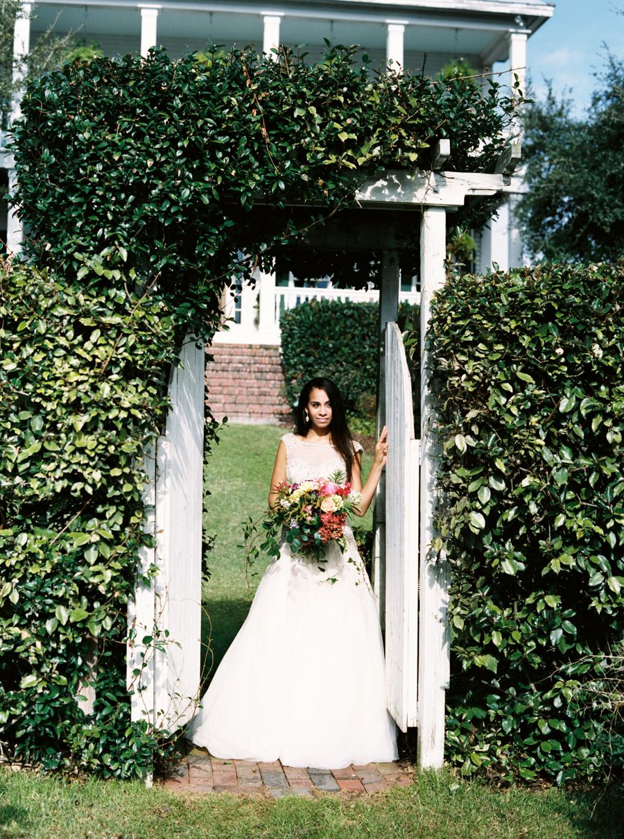 IG: @TheHermosaV  Photography: Keepsake Memories Photography - http://www.stylemepretty.com/portfolio/keepsake-memories-photography Wedding Dress: Jason Alexander Bridal - http://www.stylemepretty.com/portfolio/jason-alexander-bridal   Read More on SMP: http://www.stylemepretty.com/2015/12/25/emerald-isle-winter-wedding-inspiration/