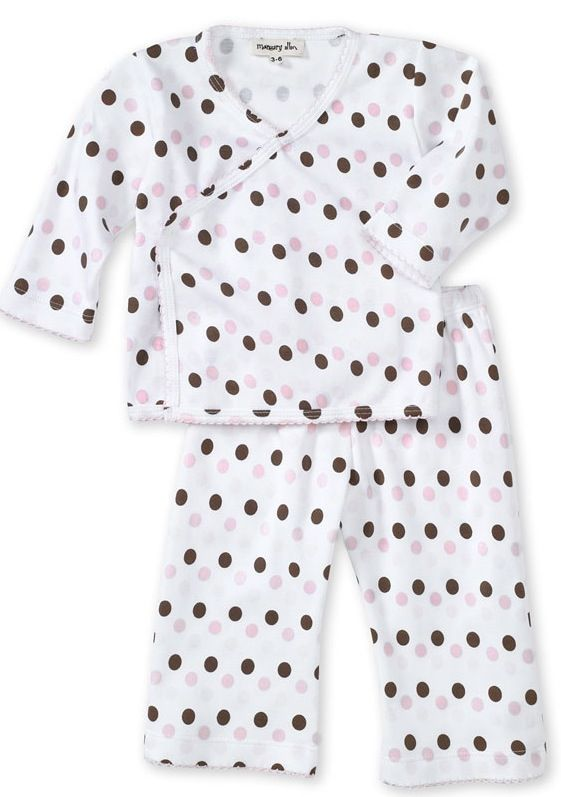 327ba9744 Take Me Home Outfit Pink   Chocolate Dots - Largest Twin Store ...
