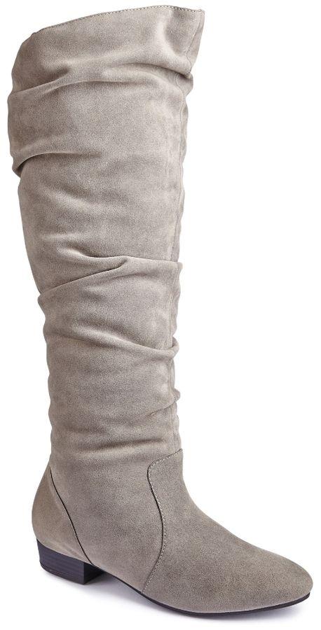Sole Diva High Leg Boot EEE Super Curvy