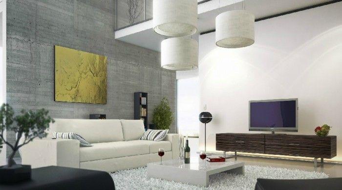 cool wohneinrichtung ideen wohnzimmer einrichten ideen weißer