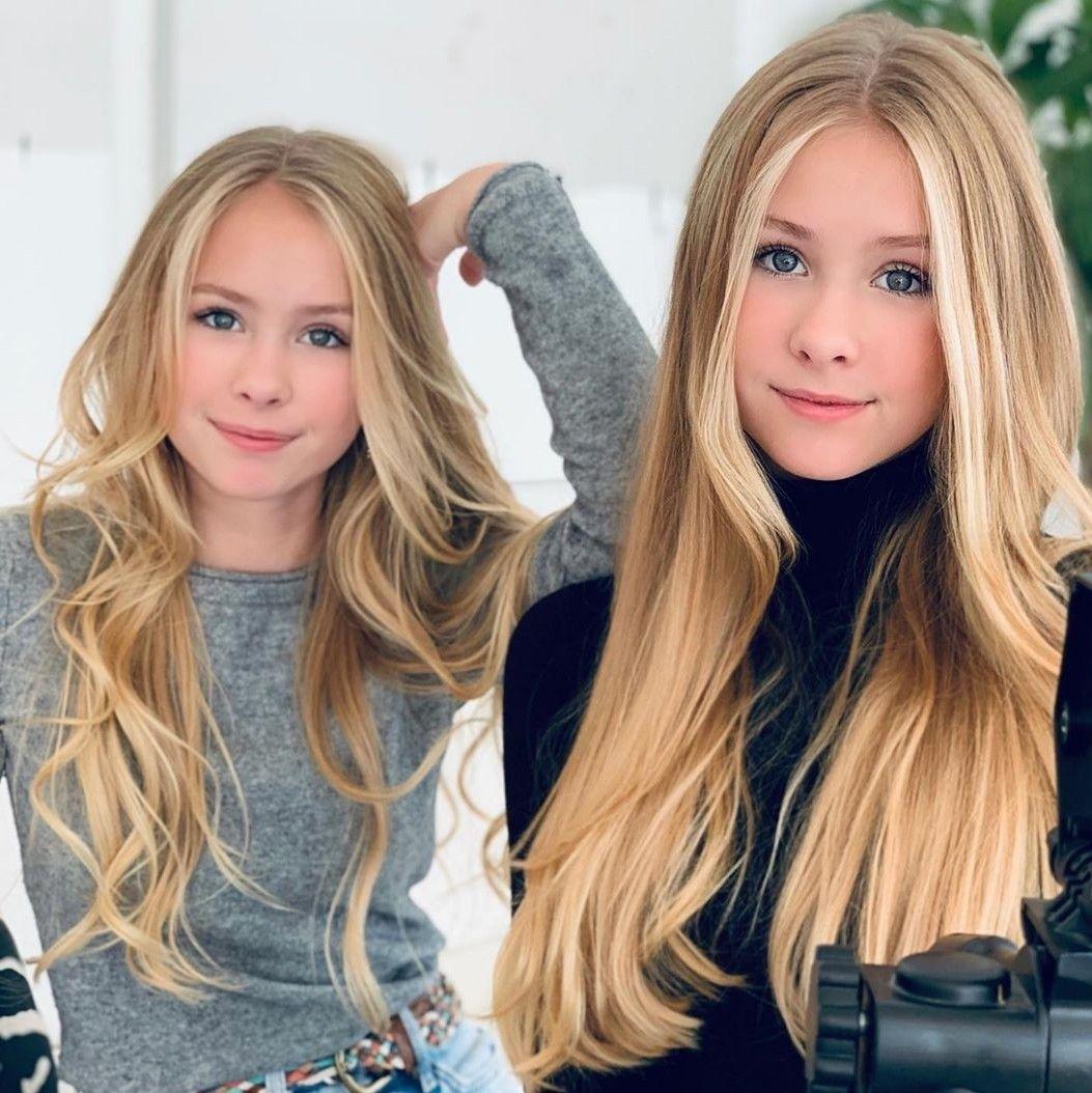 Pin by lara hana on Twin Sisters   Long hair styles
