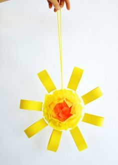 Bring on the sun with this easy craft!