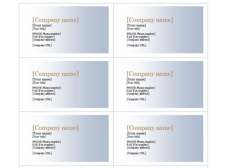 Avery Business Cards Template 8869 Awesome Patible With Avery Template 8373 Avery Business Cards Free Business Card Templates Business Card Gallery