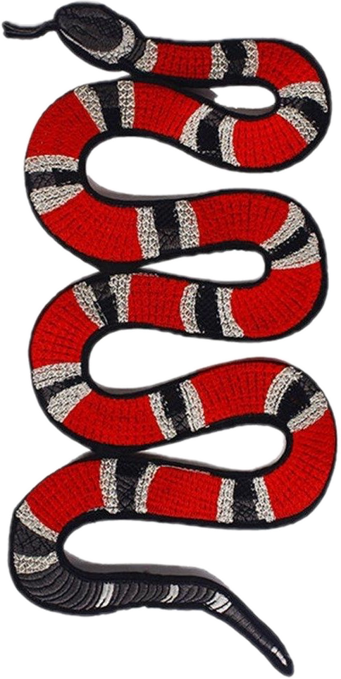 Gucci Guccisnake Red Lit Sticker By K33m Equality Tattoos Moon Tattoo Designs Pillow Embroidery