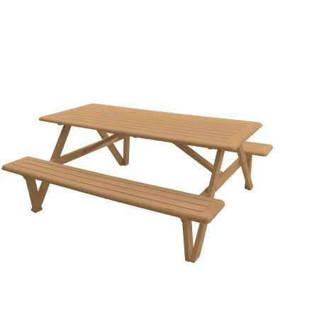 Teak Outdoor Tables   Larchmont Picnic Table | Country Casual