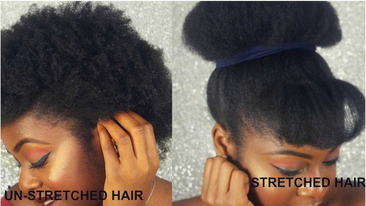 How To Stretch Out Natural Hair With No Heat Easynoheathair