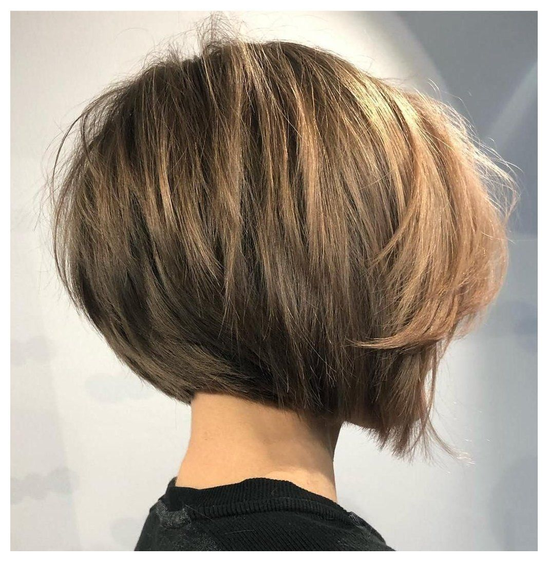 The Full Stack 50 Hottest Stacked Haircuts Short Hairstyles For Thick Hair Choppy Layer In 2020 Bob Hairstyles For Thick Thick Hair Styles Straight Bob Haircut