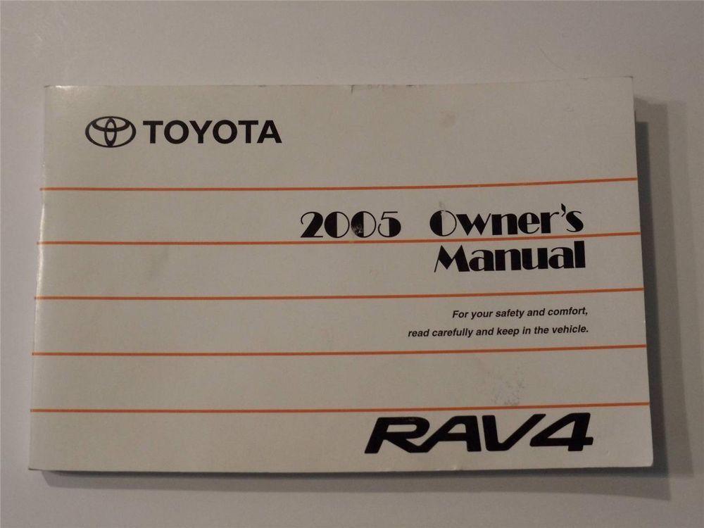 2005 toyota rav4 owners manual book owners manuals pinterest rh pinterest co uk 2004 rav4 owners manual free 2005 rav4 service manual