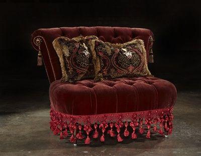 Merveilleux Rockstar Velvet Chair