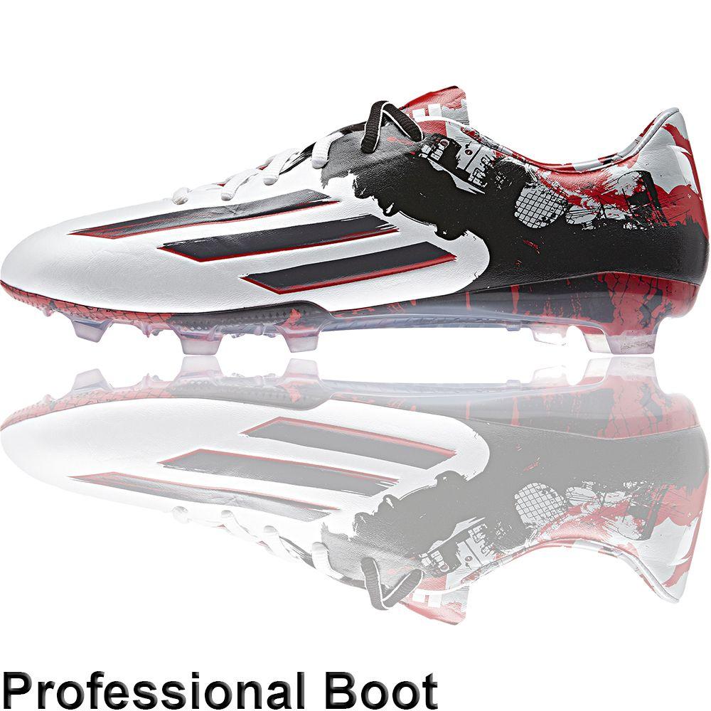 promo code 80bb0 f0be6 The Football Nation Ltd - adidas Messi 10.1 FG - WhiteGraniteScarlet,