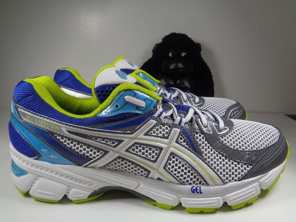 5deddfbfc1f145 Womens Asics Contend 2 Running Cross Training shoes size 10 T474N  ASICS   RunningCrossTraining