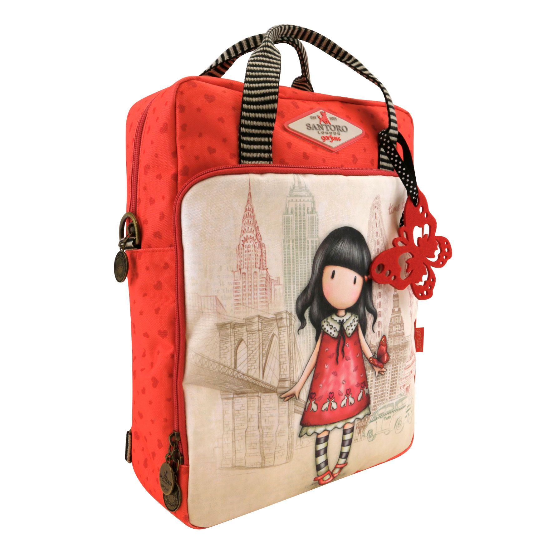 Batůžek-kabelka - motiv Time To Fly od firmy SANTORO London Gorjuss ... 37336af8035