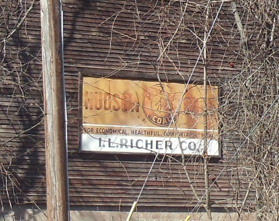 GHOST SIGN on old Bldg in S. New Berlin by JuneNY, via Flickr
