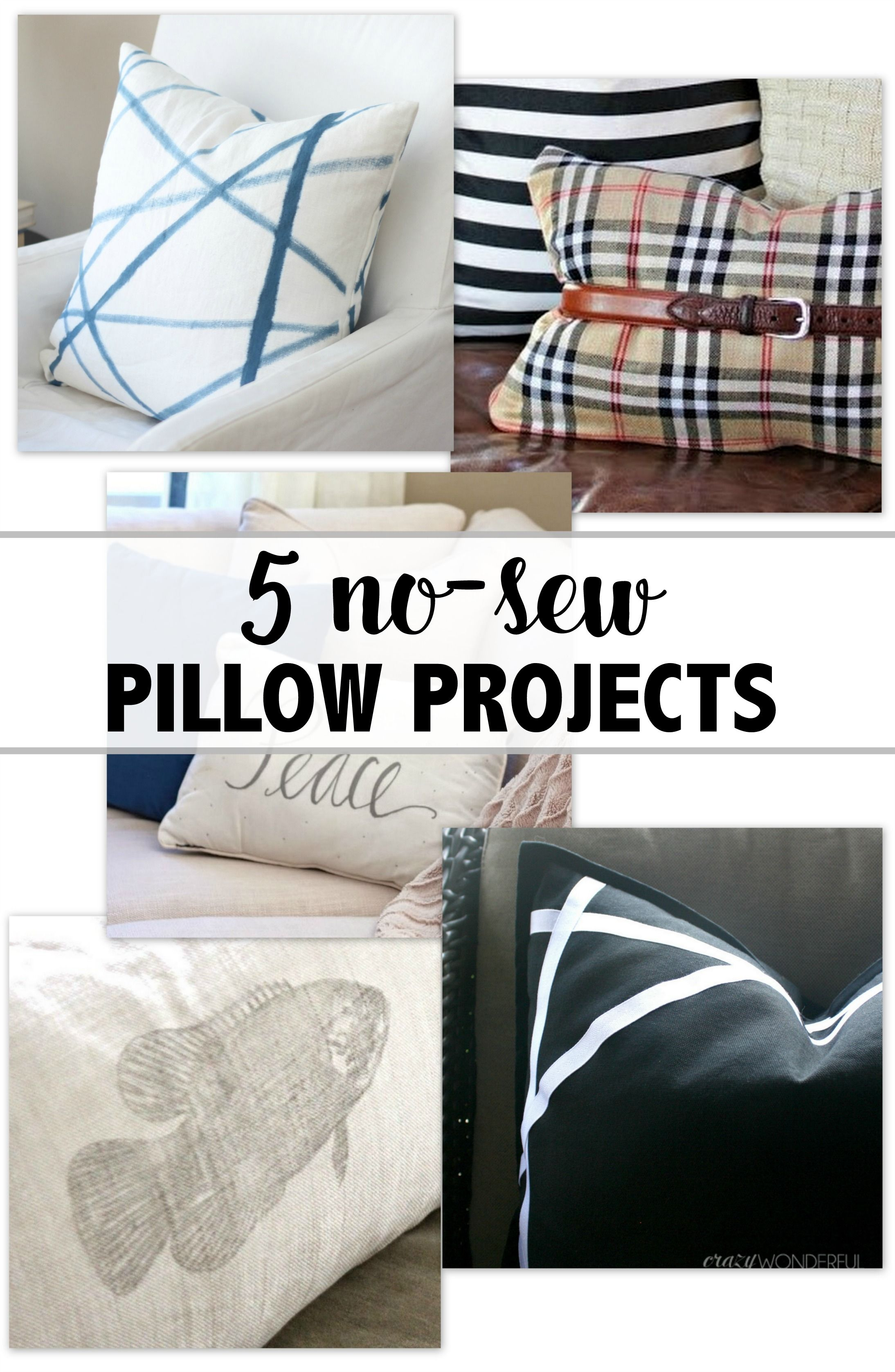 How to sew a pillow in five minutes 96