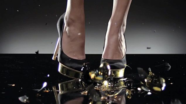 Black Gold Shoes Britney Spears Will I Am Scream & Shout