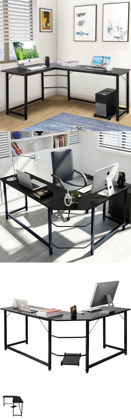 Desks and home office furniture lshaped desk corner computer