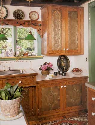 Etonnant Punched Tin Cupboard Doors? I Would Only Do On The Top. Not This Punching  Style Though.