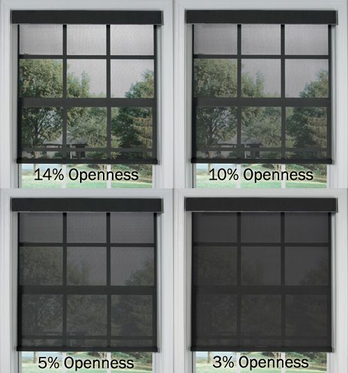 Bali® Solar Shades: Solids | Solar shades, Openness and Window