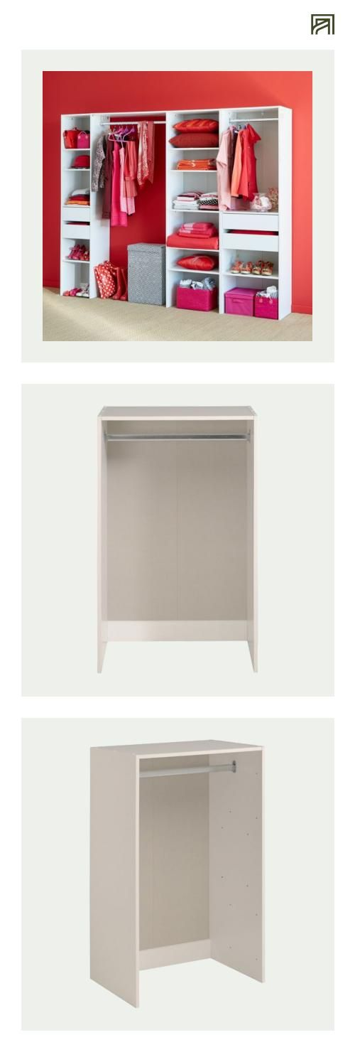 armoire penderie alinea bright shadow