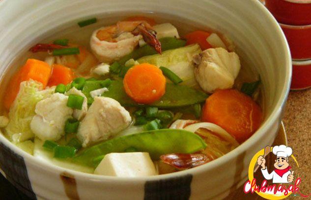Resep Hidangan Sayuran Sup Jamur Kembang Tahu Makanan Sehat Untuk Diet Club Masak Masakan Indonesia Masakan Resep