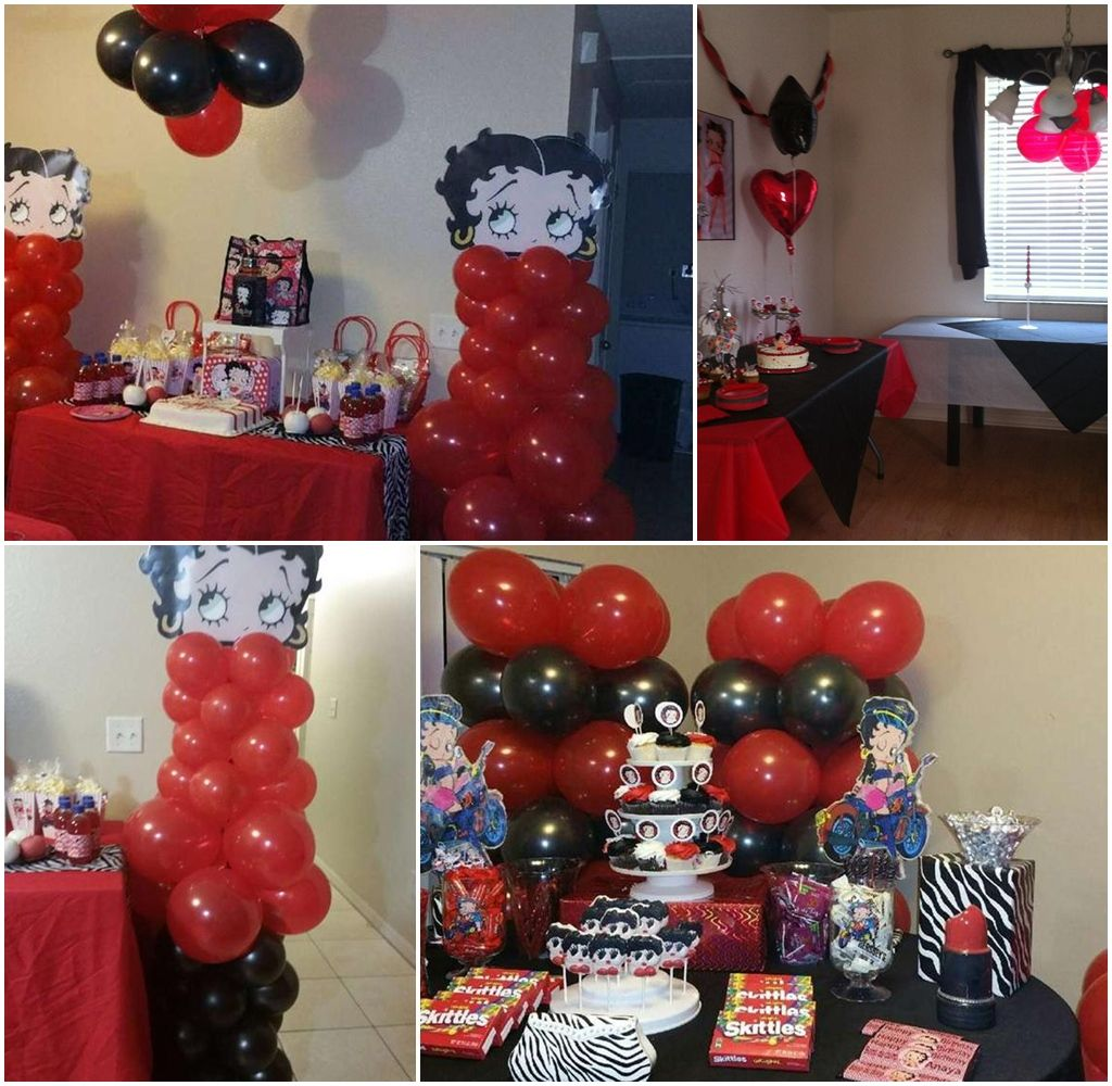 Betty Boop Party Theme Decorations Betty Boop Party Decorations ...