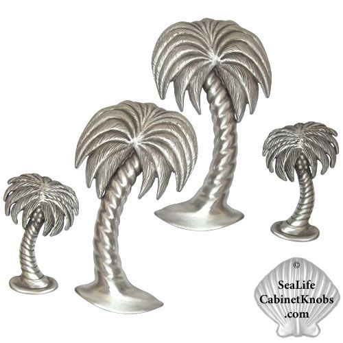 palm tree cabinet knobs 114l small left leaning home decor rh pinterest com Palm Tree Furniture Tropical Palm Tree Storage Cabinet