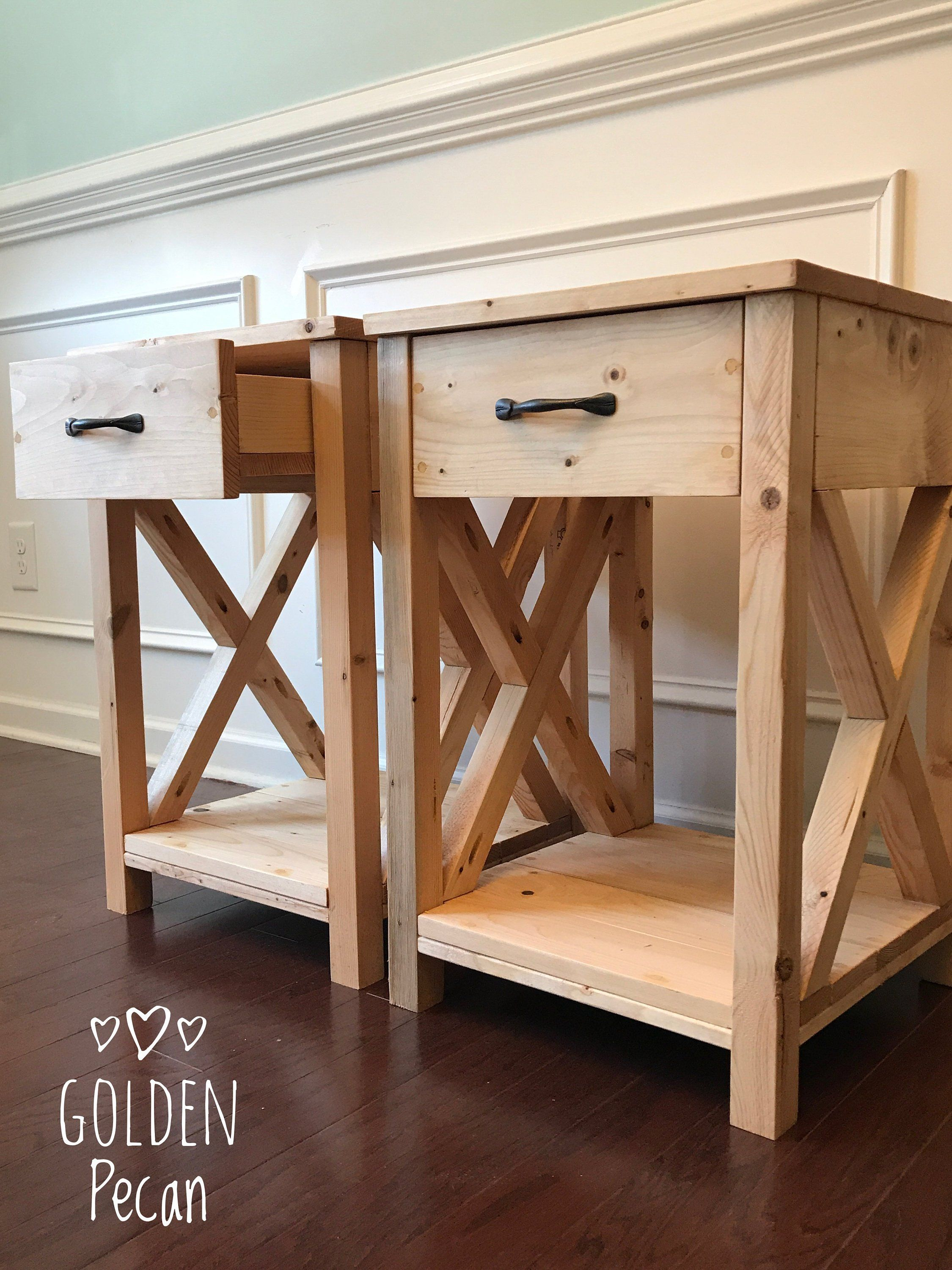 Nightstand Side Table End Table For The Home Etsy Rustic Nightstand Diy Furniture Furniture