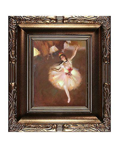 "Rue La La — ""Star Dancer (On Stage)"" by Edgar Degas"