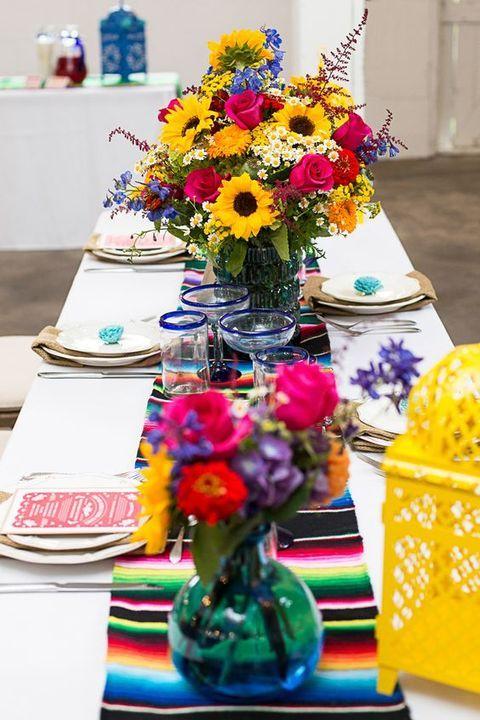 Mexican themed wedding ideas