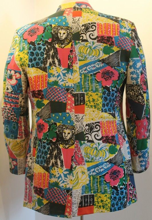 36b9f30b25eec6 Vintage Lilly Pulitzer Mens Stuff Multi Color/Print Sport Jacket image 5